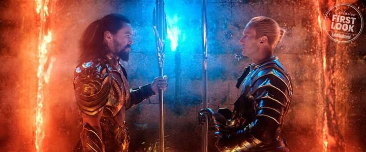 Aquaman filminden yeni görüntüler yayınlandı