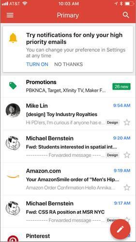 Yapay zeka mail bildirimlerine el attı: Gmail'den akıllı bildirim özelliği