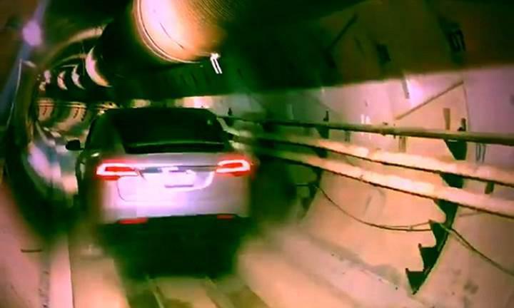 Elon Musk'ın tünel projesi ilk kez test edildi