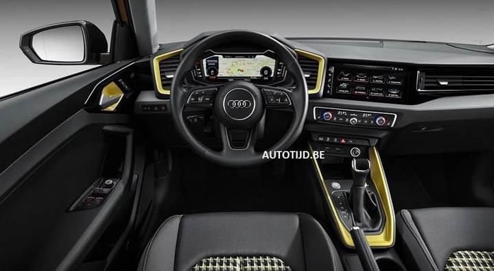 Yeni nesil Audi A1'in görselleri sızdırıldı