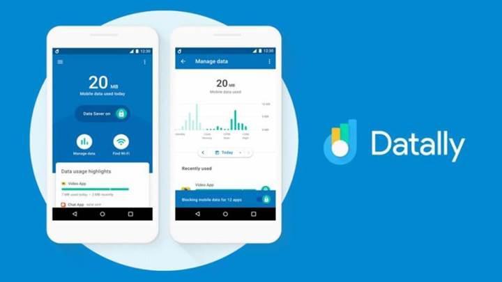 Google'ın mobil veri tasarrufu uygulaması Datally'ye dört yeni özellik eklendi