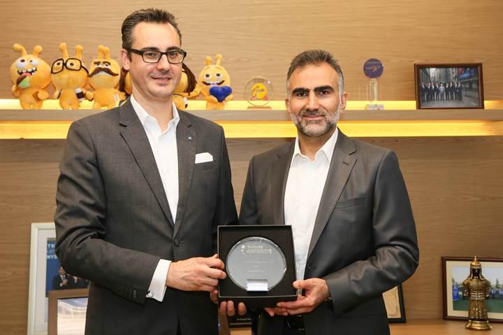 Turkcell ve Ericsson'un Akıllı Otopark Projesi'ne Londra'dan büyük ödül