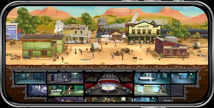 Westworld mobil oyunu indirmeye sunuldu