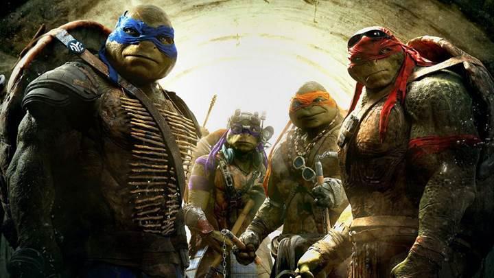 Ninja Kaplumbağalar beyaz perdeye geri dönüyor