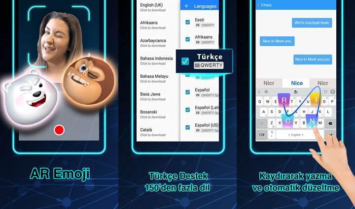 Popüler Android klavyesi TouchPal, dijital asistanla güçlendirildi