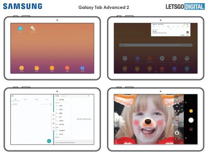 Samsung'un yeni tableti Galaxy Tab Advanced 2'nin kullanım kılavuzu sızdı