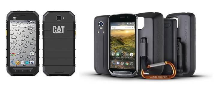 Sağlamlıkları ile bilinen CAT ve Land Rover telefonların güvenliğini BlackBerry sağlayacak