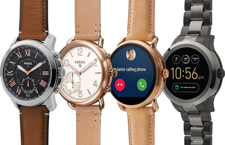 Fossil Group'un yeni Wear OS akıllı saatleri yolda
