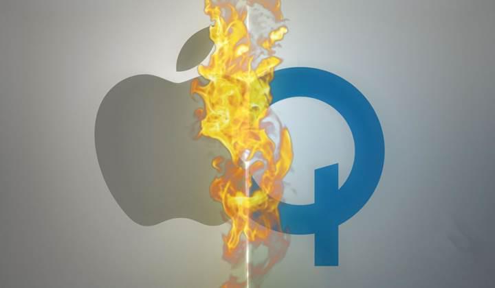 Apple dört Qualcomm patentinin iptali için başvuruda bulundu