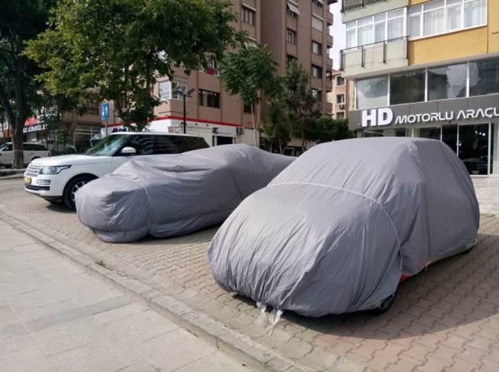 İstanbul doluya hazır! İşte araç sahiplerinin dolu yağışı için aldığı önlemler [Galeri]