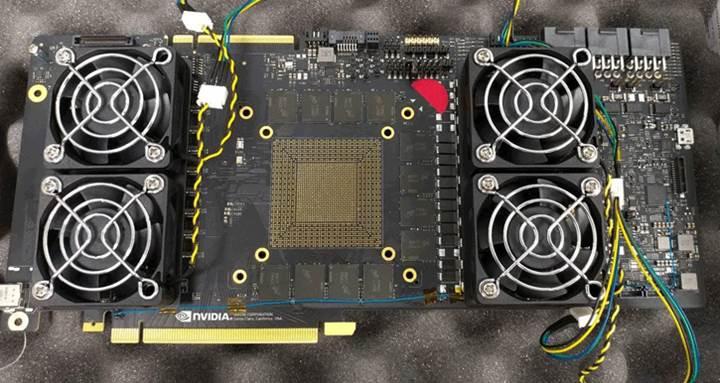 GDDR6 ile donatılmış bir Nvidia mühendislik kartı sızdırıldı