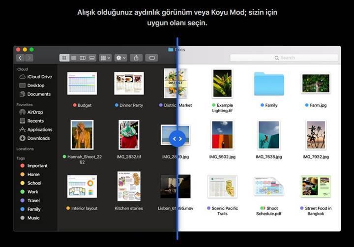 Apple, macOS Mojave'nin herkese açık ilk beta sürümünü yayınladı