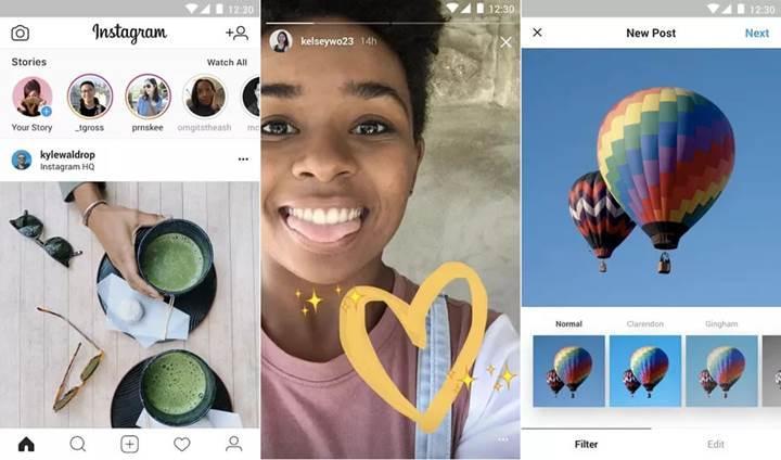 Kota dostu Instagram Lite uygulaması yayınlandı