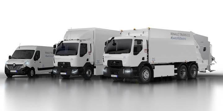 Renault Trucks, yeni nesil elektrikli kamyonlarını tanıttı