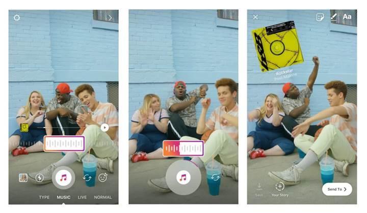 Instagram hikâyelerine artık müzik eklenebilecek