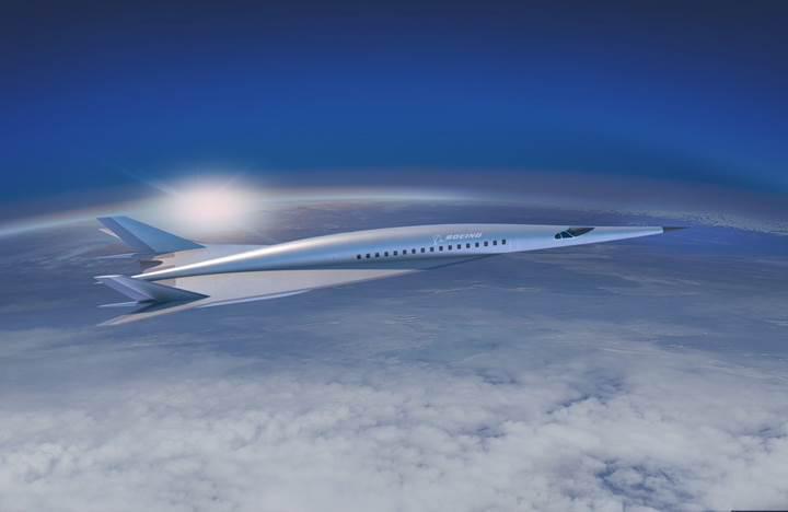 Boeing sesten beş kat hızlı hipersonik yolcu jeti konseptini ortaya çıkardı