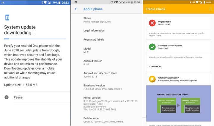 Xiaomi Mi A1'in sorunlu Android 8.1 güncellemesi geri çekildi