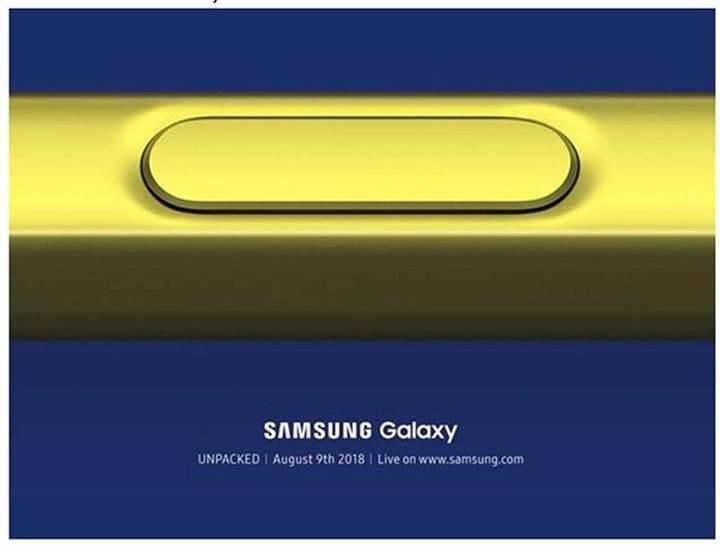 galaxy note 9 ne zaman tanıtılacak