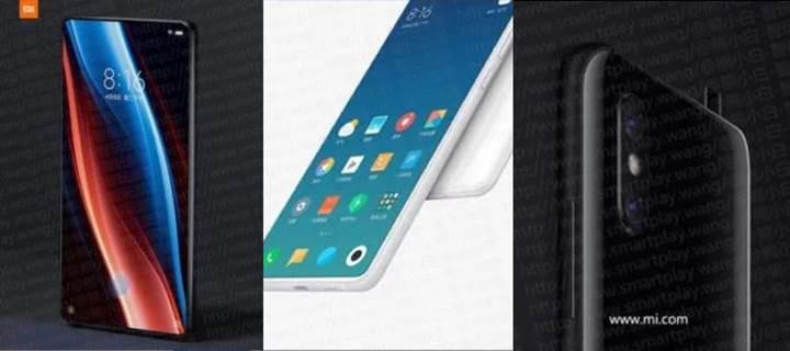 Xiaomi Mi Mix 3 üstten açılan kamera ve çentiksiz ekran ile gelebilir