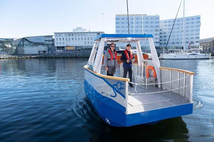 Asansör gibi kullanılabilen elektrikli ve otonom feribot: Autoferry