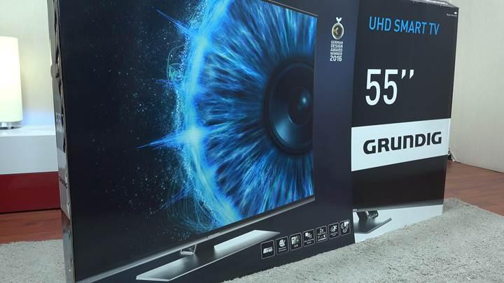 Grundig 55 VLX 9750 SP TV ve MR8000 Wi-Fi Soundbar incelemesi