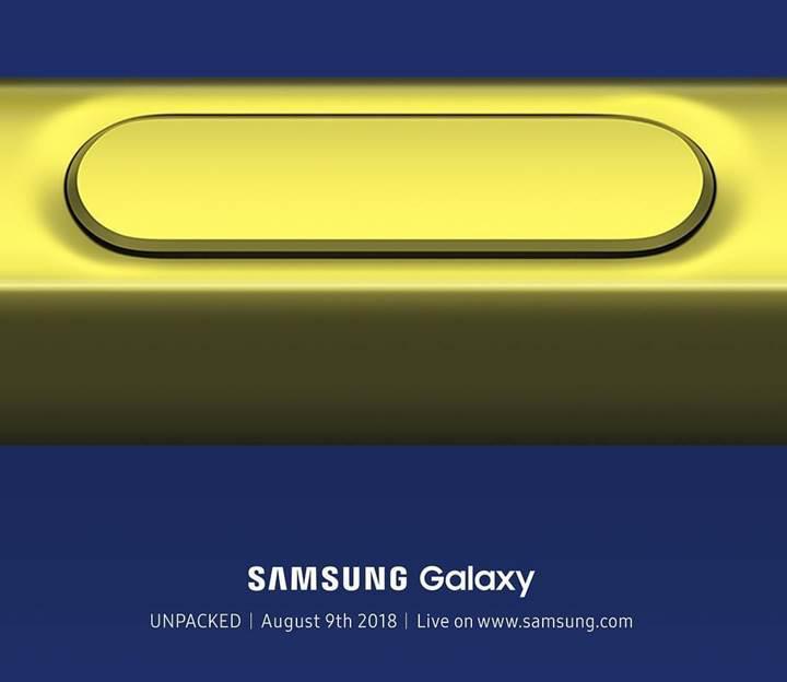 Samsung Galaxy Note 9'daki S Pen bir kalemden fazlasını sunacak