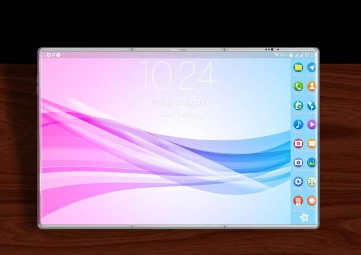 Samsung Galaxy X katlanabilir telefon sadece ikiye katlanmayacak