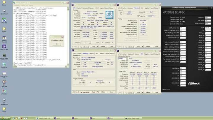 Intel Core i7-8700K işlemcisinde hız aşırtma rekoru kırıldı