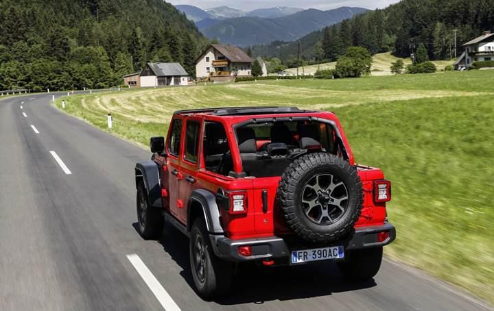 Yeni Jeep Wrangler eylül ayında Avrupa'ya geliyor