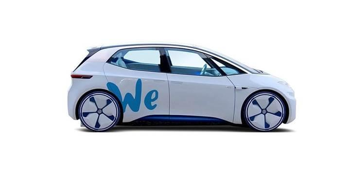 Volkswagen, WE elektrikli araç paylaşım platformunu duyurdu