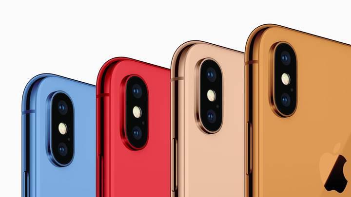 Yeni iPhone'lar rengarenk olacak!
