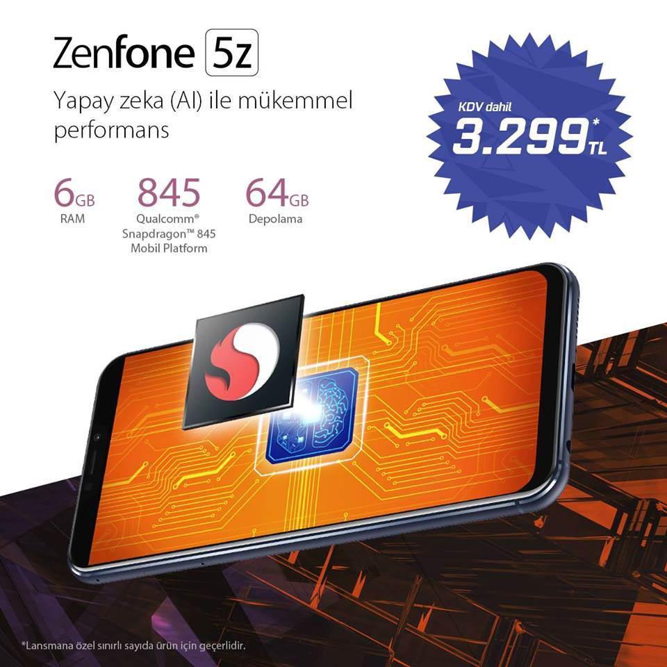 ASUS ZenFone 5Z oldukça rekabetçi bir fiyatla Türkiye'ye geliyor! İşte fiyatı [Ön siparişe açıldı]