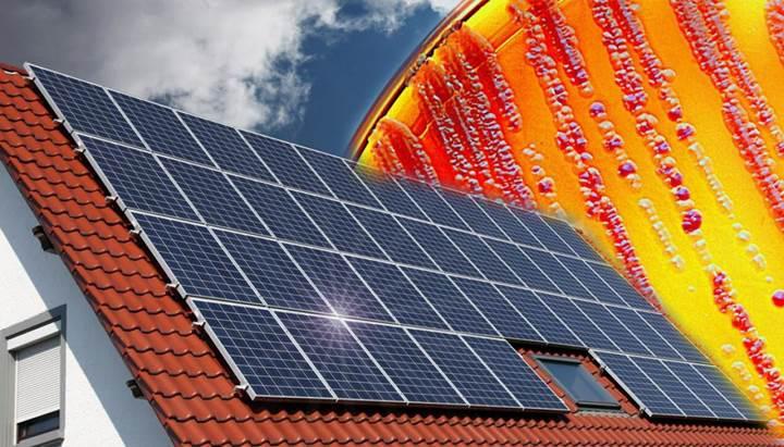 Bakterilerle dolu güneş paneli bulutlu havalarda bile elektrik üretebiliyor