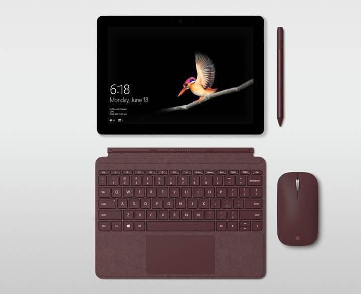 Microsoft'tan uygun fiyatlı tablet PC geldi: Karşınızda Surface Go