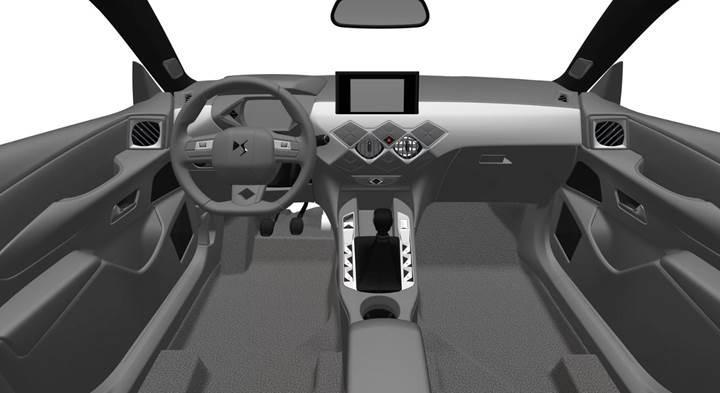 2019 DS3 Crossback'in tasarımı ortaya çıktı
