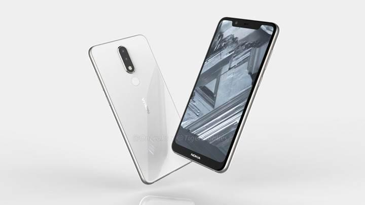 Çentikli tasarıma sahip Nokia 5.1 Plus'ın görselleri sızdı