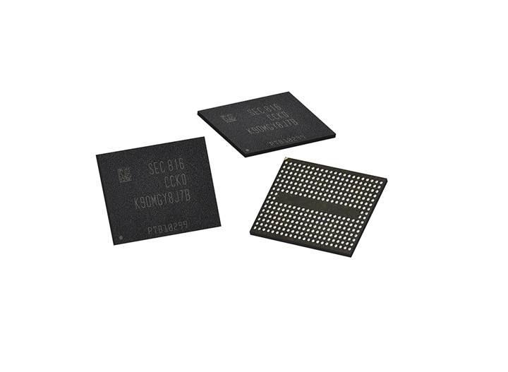 Samsung 96 katmanlı 3D V-NAND yongalarının  üretimine başladı