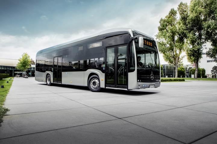Mercedes-Benz, elektrikli şehir otobüsü eCitaro'yu duyurdu