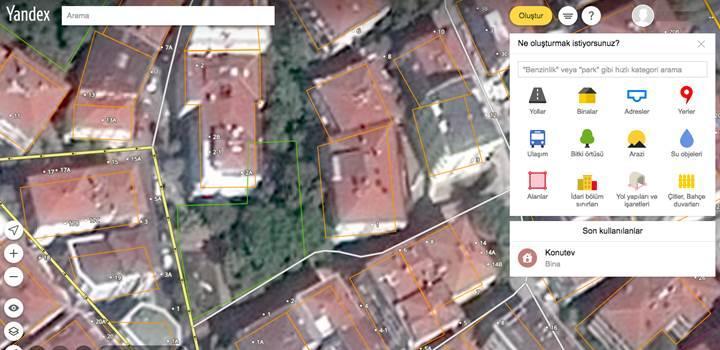 Yandex Haritalar kullanıcılara düzenleme imkânı veriyor