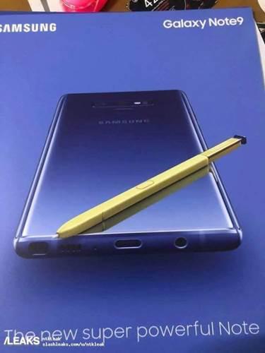 Galaxy Note 9'un tanıtım posteri sızdırıldı