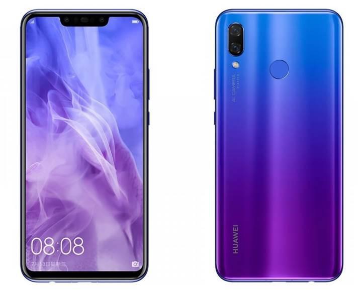 Huawei Nova 3 resmi lansman öncesinde görselleri ve tüm özellikleriyle açığa çıktı