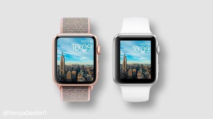 Büyük ekranlı Apple Watch Series 4 işte böyle görünecek