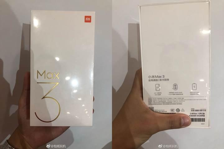 Xiaomi Mi Max 3'ün resmi posteri yayınlandı