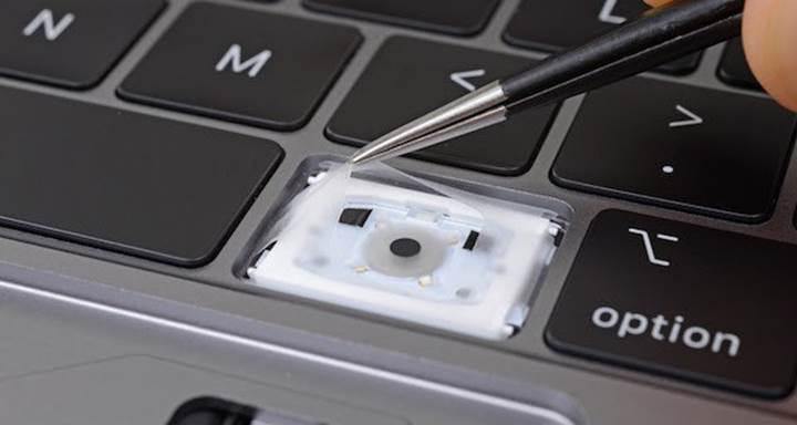Apple Macbook Pro 2018 toza ve kire karşı daha dayanıklı klavye ile geliyor