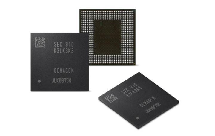 Samsung'dan taşınabilir cihazlara LPDDR5 RAM bellekler