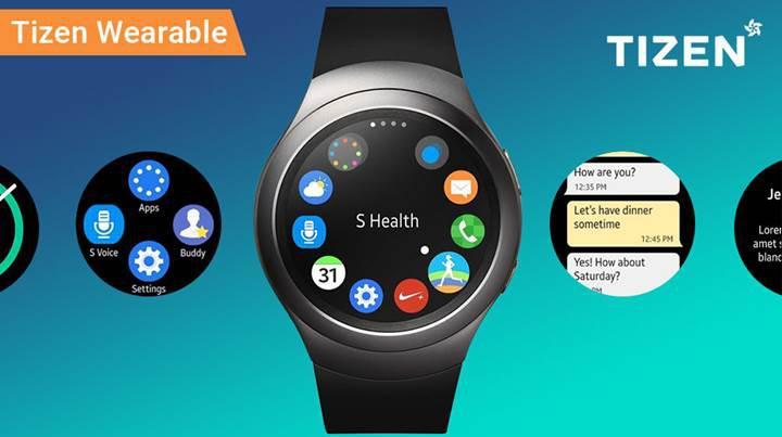 Samsung Galaxy Watch, Tizen işletim sistemi ile gelecek