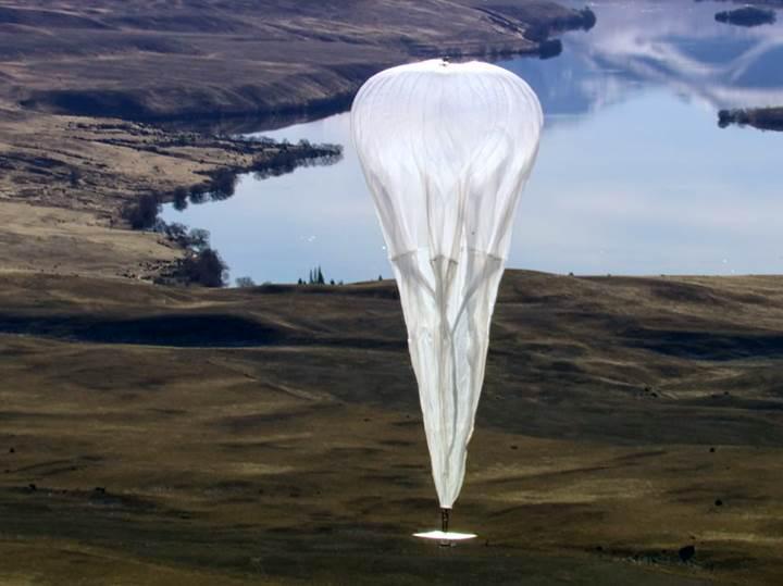 Google Kenya'da balonlarla internet sunacak