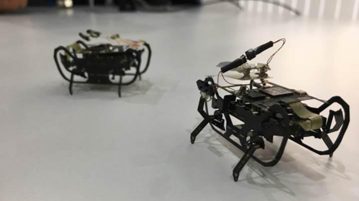 Rolls-Royce, uçak motorlarını ''böcek'' robotlarla tamir edecek