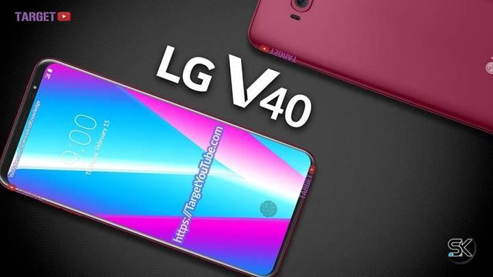 LG V40 ThinQ, Ekim ayında piyasaya sürülebilir