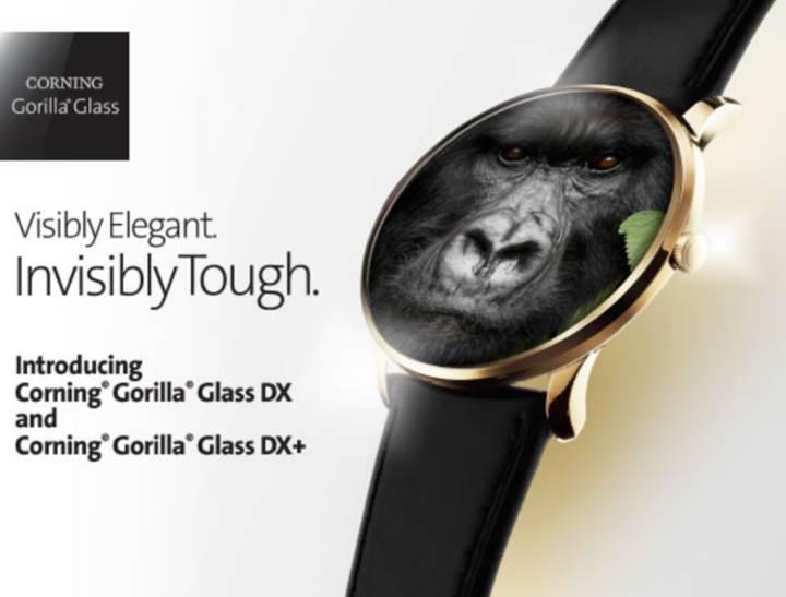 Corning'den akıllı saatler için Gorilla Glass camlar